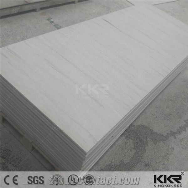 Acrylic Decorative Solid Surface Sheet For Shower Walls
