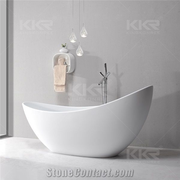 luxury solid surface custom bathtubs sizes,durable white matte