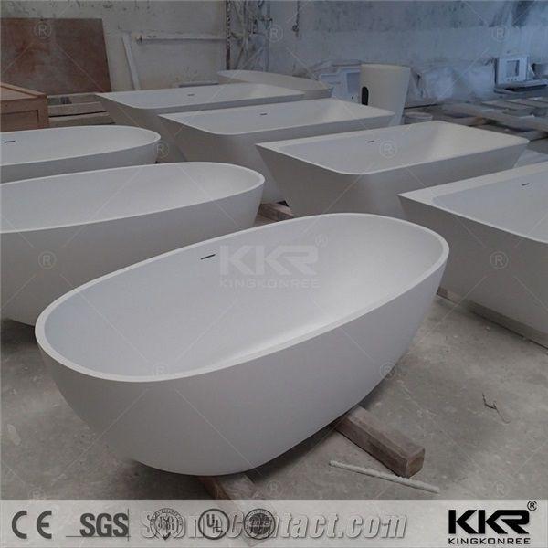 quality supplier acrylic solid surface bathroom bathtub,customized