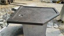 Blue Limestone Shower Trays Shower Bases