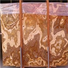 Tiger Onyx, Yellow Onyx, Organe Onyx, Slabs, Tiles, Floor Covering Tiles, Wall Covering