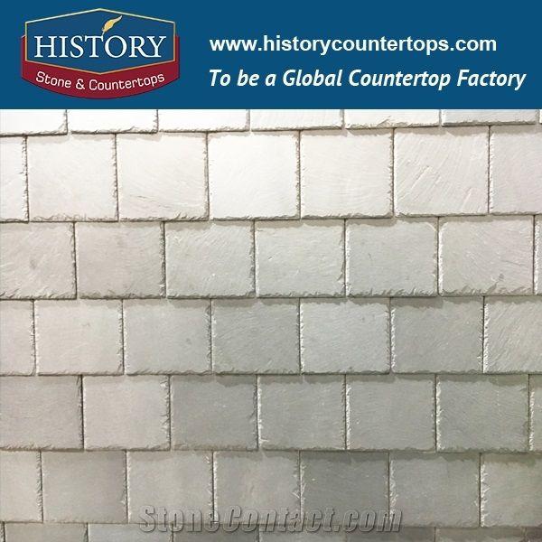 2017 China Light Grey Color Triangle Pattern Decorative