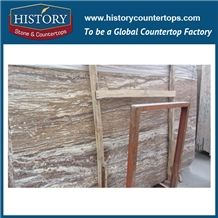 Apollo Gold Mocca Marble Slabs for Kitchen Countertop, Marble Tile for Wall Cladding Flooring and Skirting
