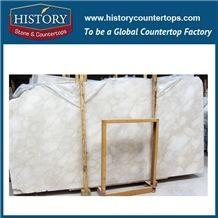 Botticino White Marble Custom Sizes Polished Marble Tiles & Slabs