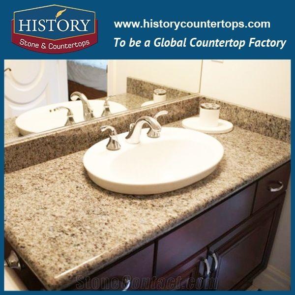 History Stone Hgj029 Caladonia Round Polishing Laminate Trim Molding  Commercial Design Bathroom Countertops U0026 Vanity Top For Building  Construction