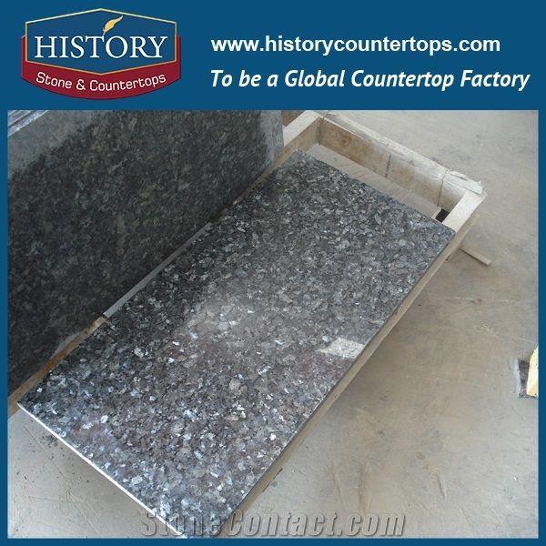 Silver Pearl Customized Shape Granite