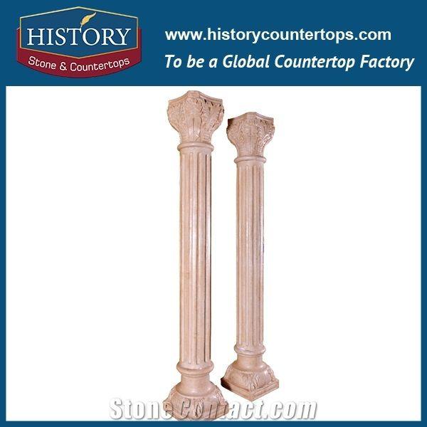 History Stones Luxury Villa Interior Sunset Pink Marble Stone