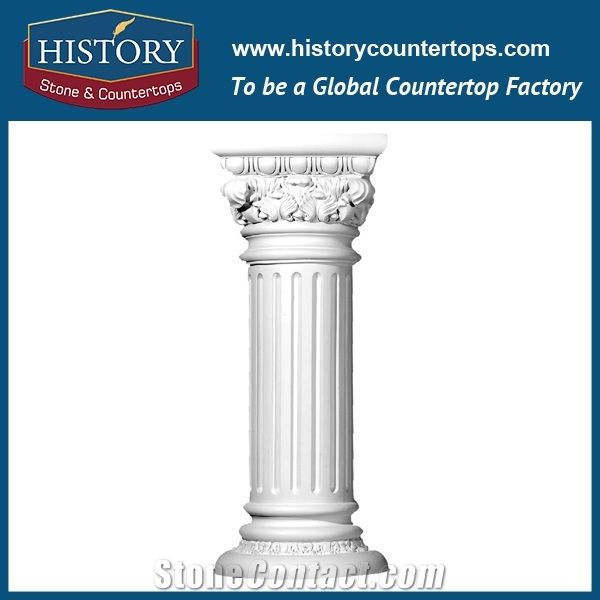 History Stones Prevalent Absolutely Pure White Marble