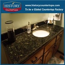 Historystone Hot Sale Granite Hotel Vanity Counter Tops, Cut to Size, Polished and Solid Surface