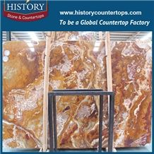 Historystone Onyx Tiles,Polished Onyx Covering Paving,Wall Panel,Top Quality Slabs Paving Stone Factory,Grade a Interior Flooring
