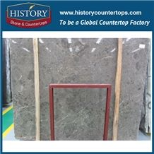 Historystone Turkey Imported Sicily Ash Marble Slabs for Engineered New Flooring Tile and Wall Cladding Covering,Hot Sales and Popular This Year.