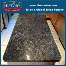 Hot Sale Custom Granite Stone,Great Quality Steel Grey Granite Countertops