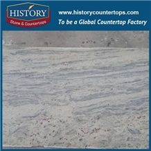 New River White Granite Slabs & Tiles Floor and Wall Covering, Countertops, Custom Counter Tops Dimensional Stone,Thunder White Granite,Stone Polished