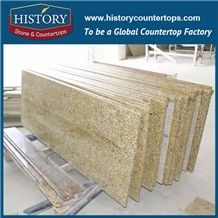 Tiger Skin Yellow Pre Cut Granite Table Top Custom Commercial Kitchen Tops Lowes 25 X21
