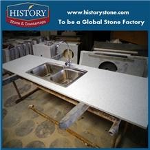 White Galaxy Artificial Stone Countertop
