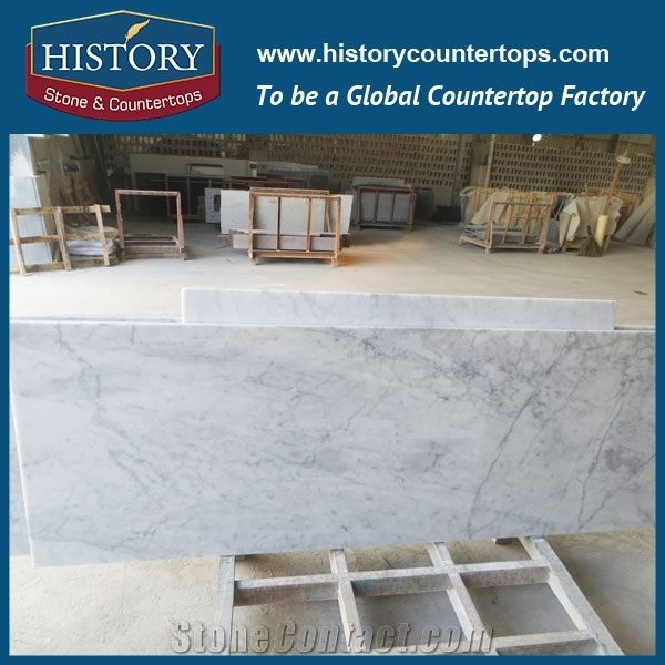 Whole Volakas White Commercial Kitchen Countertop Marble Top Work Table