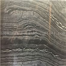 Black Wood Marble,Black Wood Vein Marble,Black Forest Marble with Big Slab and Polished Surface