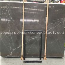 Pietra Grey Marble,Grey Crystal Marble,Pietra Grigio Marble with Polished Surface