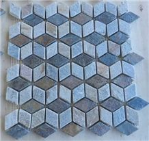 Mix Stone Mix Rustic Color Slate Mosaic