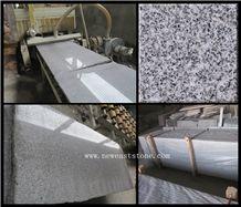 Bianco Crystal Hubei White Linen Granite Polished Stone Big Slab Price Wholesale