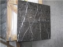 Classic Brown Marble Slabs & Tiles, China Brown Marble, China Nero Portoro,Chinese Classic Black and Gold