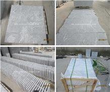 New China Viscount White Granite Viskont White/China Romano White/China Viscont White/Shanshui White/Landscape White Polished Tiles and Slab Wholesale