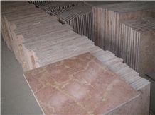 Red Jade Marble Slabs & Tiles, China Red Marble, Red Cream Marble, China Coral Red Marble