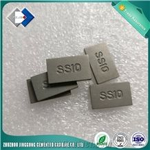 Sintered Ss10 Tungsten Carbide Tips for Cutting Stone