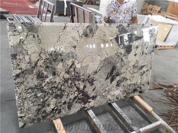 Bianco Antiq Granite Walling Branco