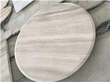 Casa Grey / China Grey Wood Marble/ Grey Wood Vein Marble Tabletop
