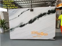 Good Price China Polished Panda White Natural Marble Tiles & Slabs/Chinese Hotel Floor Covering/Tv Set Bookmatch Wall/Stone/Popular in Europe and Usa