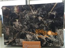 New Polished 3cm Chinese Slabs/Good Price China Venice Gold Marble Slabs and Tiles/Bookmatch/Cover,Hotel Floor/Wall Cladding