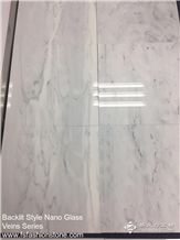 New Nano Glass Spray Wave Veins Slabs and Tiles, Backlit Man-Made Nano Glass Solid Surface Engineered Stone