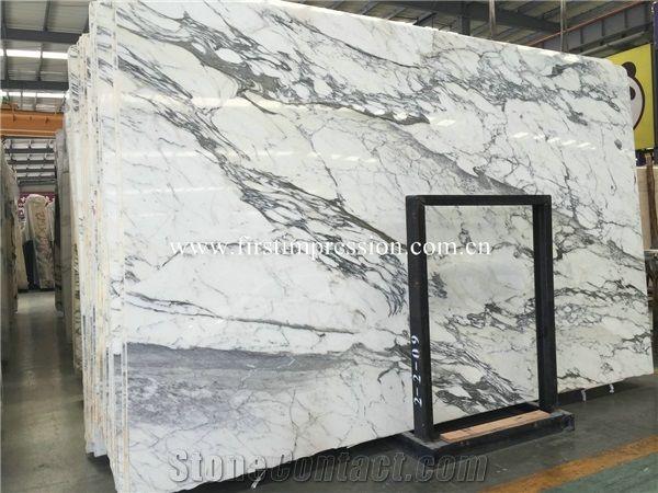 Bianco Carrara Statuario Marble Slabs