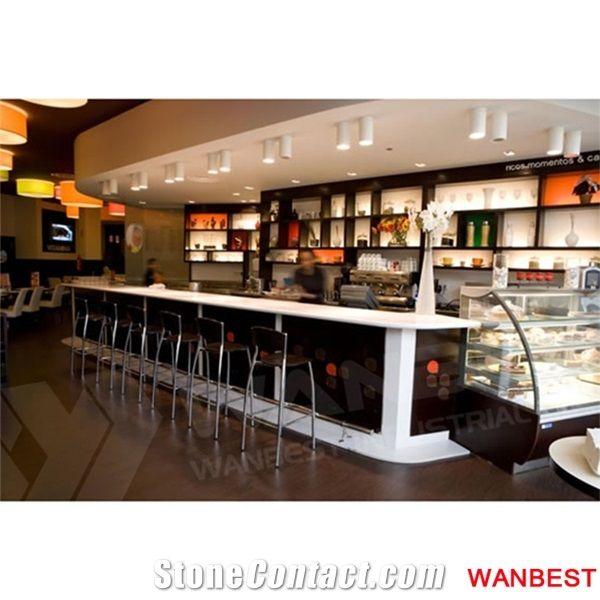 Modern Acrylic Restaurant Fast Food Pub Wine Bar Counter Cashier ...