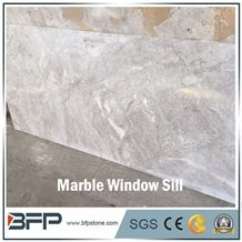 Light Grey Marble Window Sill for Hotel & Villa Projects