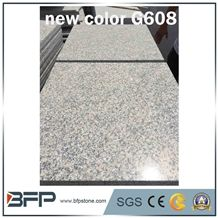The Most Econonic and Stable Grey New Color- G608 Granite for Flooring Tiles