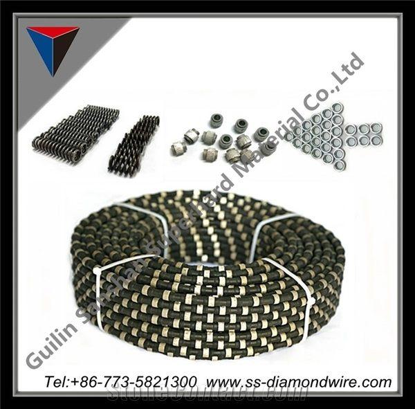 Diamond Wire Saw for Cutting Hard Concrete Diamond Wire