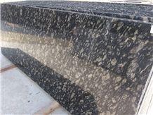 Ocean Black Granite Slabs