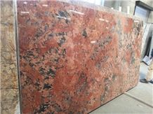 Volcano Red Granite Slabs