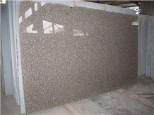 G648 Zhangpu Red Crystal Queen Rose Pink Sesame Granite Polished Slab Tile Customized Walling Panel Tiles,Airport Floor Covering-Gofar