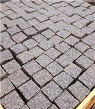 G354 Red China Granite Set,Cube Cobble Stone for Outdoor Paving,Floor Covering Walkway Pavers,Direct Factory with Ce and Cheap Price Garden Stone