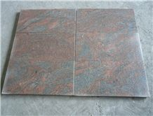 Red Symphony Granite,Multicolor Red in China,Tile and Slab for Wall Covering and Floor Use,Direct Factory Own Quarry with Ce Certificate,Cheap Price
