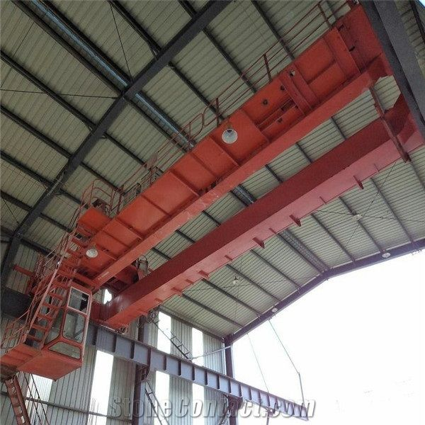 Double Girder Electric Overhead Crane Safety from China