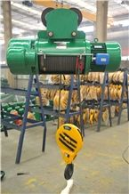 Lifting Equipment Cd Motor Wire Rope Hoist Safety
