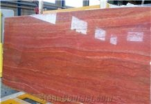Iran Red Travertine Slabs & Tiles