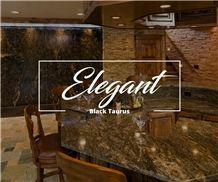 Black Taurus Granite - Black Fusion Granite Kitchen Countertop