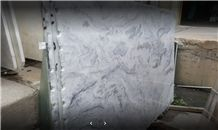 New Material White Storm Marble Slabs