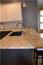 Carolina Summer Granite Kitchen Countertops