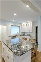 Golden Marinace - Silver Pearl Granite Kitchen Countertops